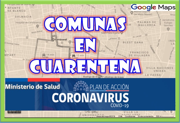 comunas chile cuarentena