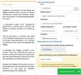 formulario denuncia voluntaria online